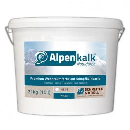 Alpenkalk Premium Wohnraumfarbe, 21kg