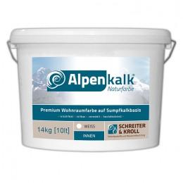 Alpenkalk Premium Wohnraumfarbe, 14kg