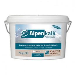 Alpenkalk Premium Fassadenfarbe, 7kg