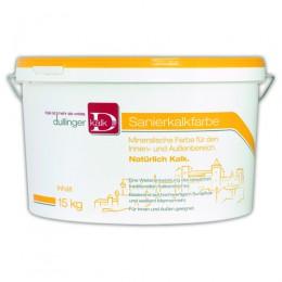 Dullinger Sanierkalkfarbe mit Binder, 15kg