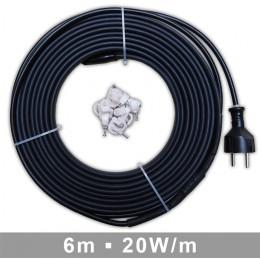 SK Heizband 6m, elektrisch, steckerfertig