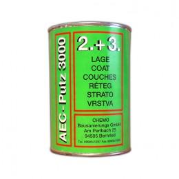 AEC-Putz 3000 grün, 2+3. Lage