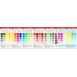 Supertintasol Color Card Universal
