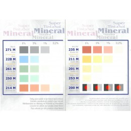 Supertintasol Color Card Mineral