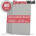 SkamoWall Board 80mm ½ - Kalziumsilikatplatte